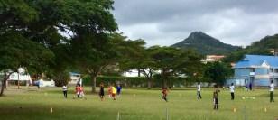 Soccer in S. Lucia