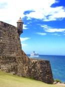 Old meets new, El Morro, Old San Juan, PR