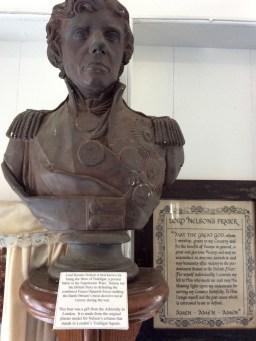 Admiral Nelson, Nelson's Dockyard Museum, Antigua