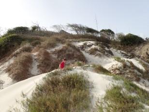 Ryan setting out to explore Baradal Island, Tobago Cays Marine Park