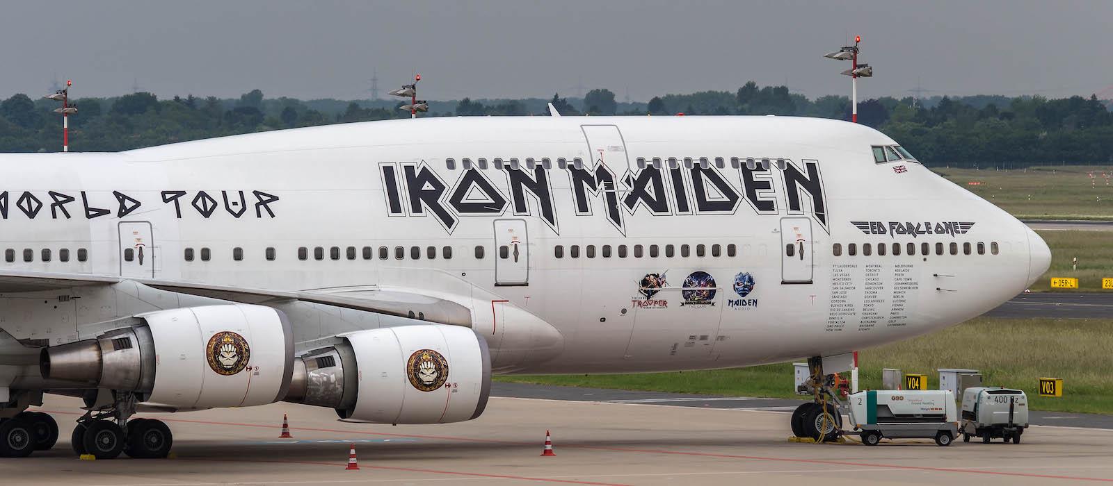 ed force one - der fliegende iron maiden tourbus! - pilotstories