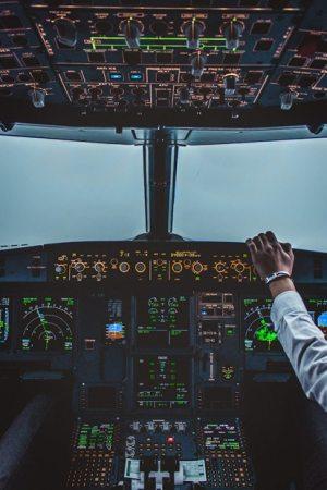 Dual autopilot landing A320