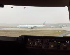Lufthansa Boeing 747 Cockpit