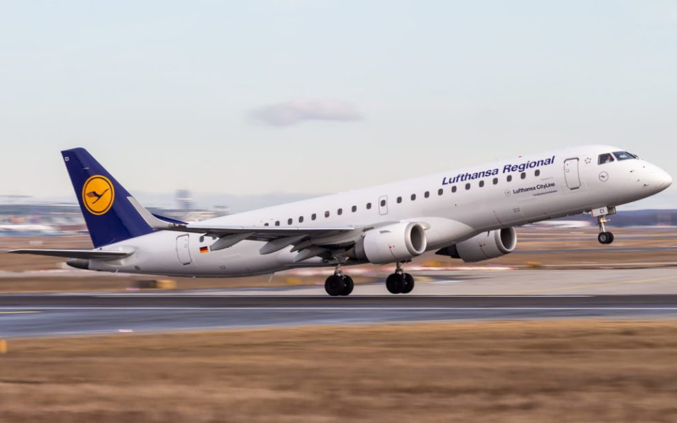 Lufthansa Embraer 195