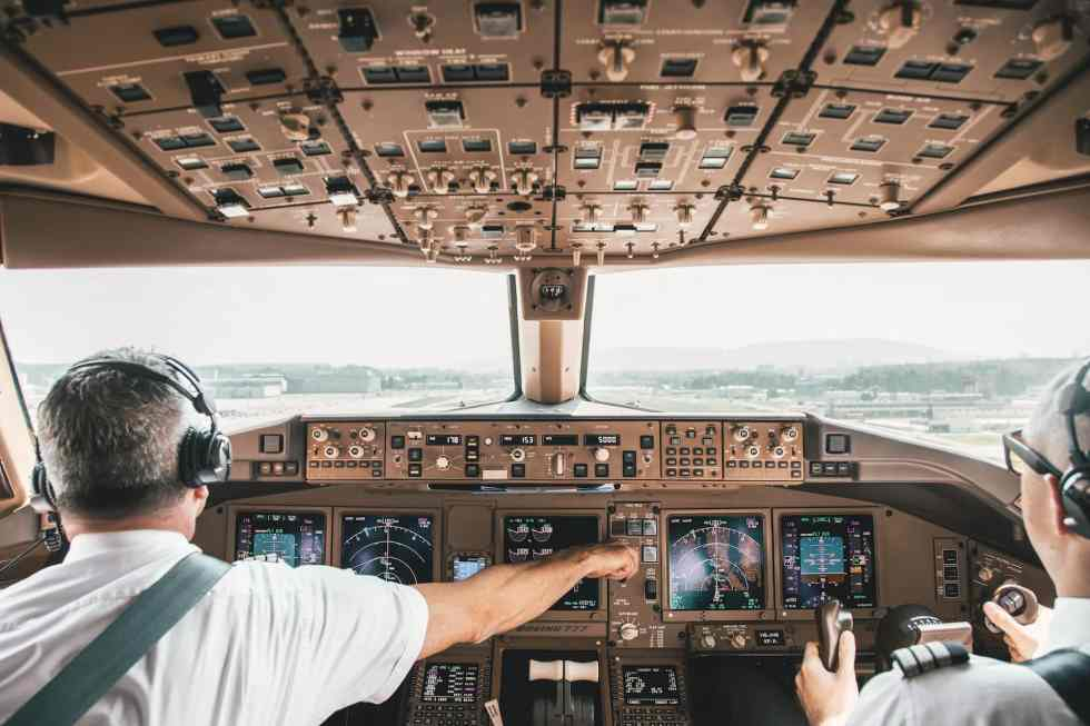 SWISS Boeing 777-300ER takeoff