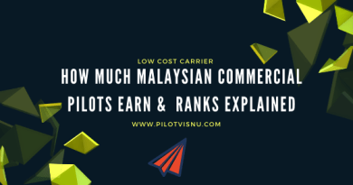 How Much Malaysian Commercial Pilots Earn &  Ranks Explained