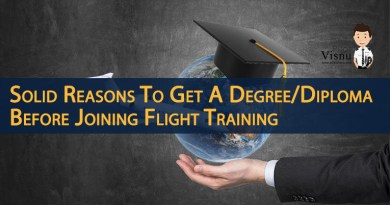 Solid Reasons To Get A Degree/Diploma Before Joining Flight Training