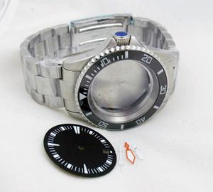 40mm 30ATM Diver Watch Case Set For ETA 2824 Movement