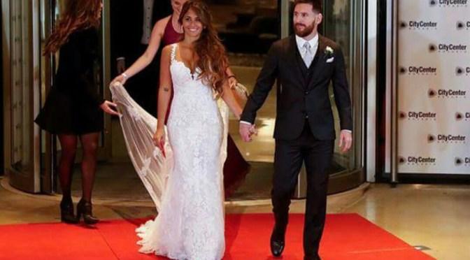 ¡Messi ya se casó! Así fue la boda del año en Argentina.