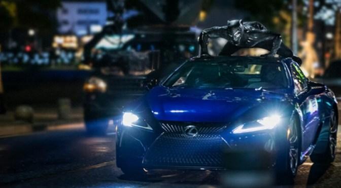 Lexus LC 500 será uno de los protagonistas en Black Panther
