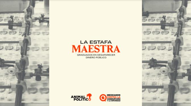 Sin respuesta a #LaEstafaMaestra
