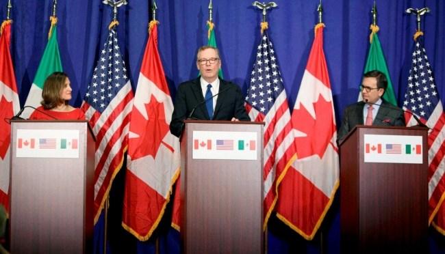 Inician reuniones bilaterales para concluir sexta ronda del TLCAN