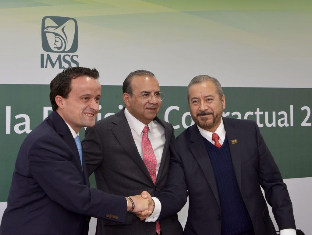 IMSS Y SNTSS Concluyen revisión contractual 2017-2019