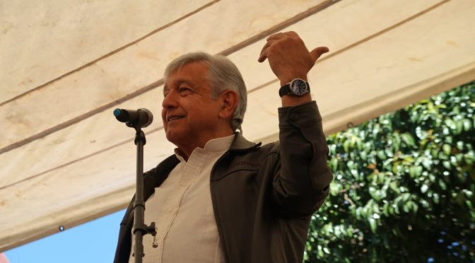 """""""Acto de justicia"""", candidatura de Gómez Urrutia al Senado: AMLO"""