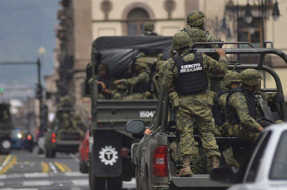 Ejército: un servicio de alto riesgo
