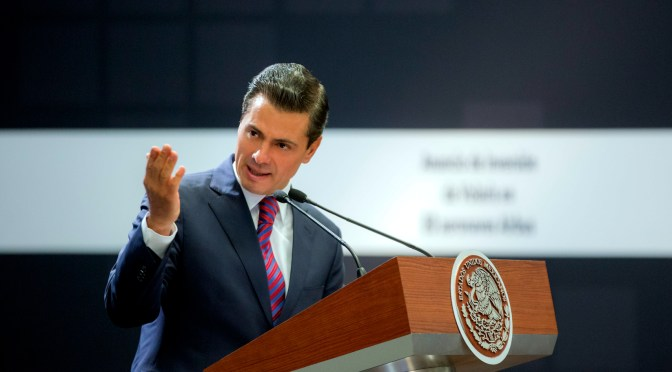 Peña Nieto advierte que no responderá a señalamientos sobre comicios