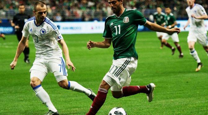 México inicia año mundialista con triunfo 1-0 sobre Bosnia-Herzegovina