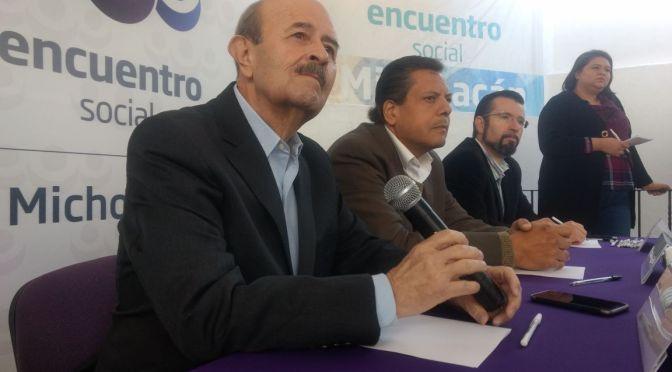 PES y PT postulan a Fausto Vallejo a la presidencia municipal de Morelia
