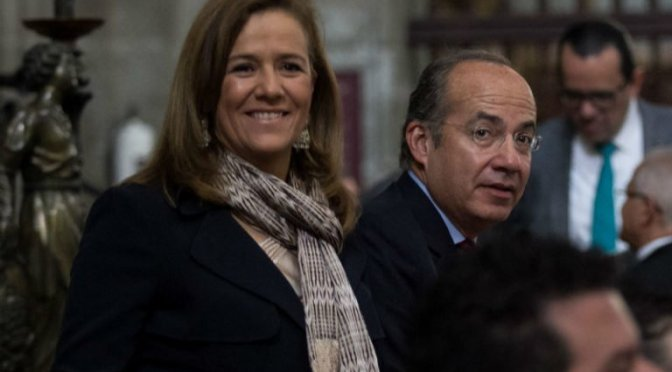 Felipe Calderón donó 1.25 mdp a precampaña de Margarita Zavala