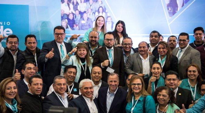 Ratifica Nueva Alianza a Meade como su candidato a la Presidencia de México