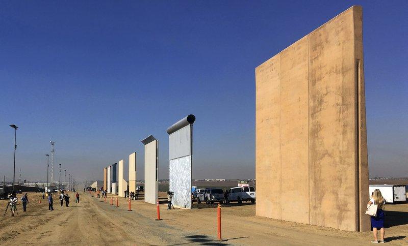 Trump solicita1.6 mil mdd para muro en frontera con México en 2019