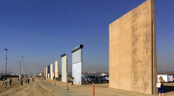 Alista EU renovar muro fronterizo en Nuevo México