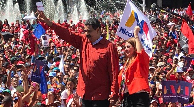 Sin oposición fuerte, Maduro registra su candidatura para reelegirse