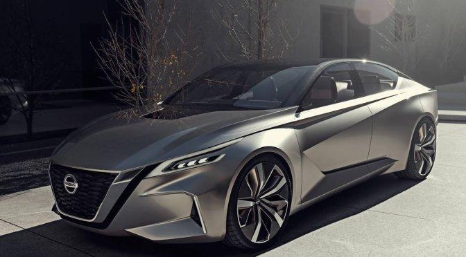 Nissan presentará nuevo Altima en Auto Show de Nueva York