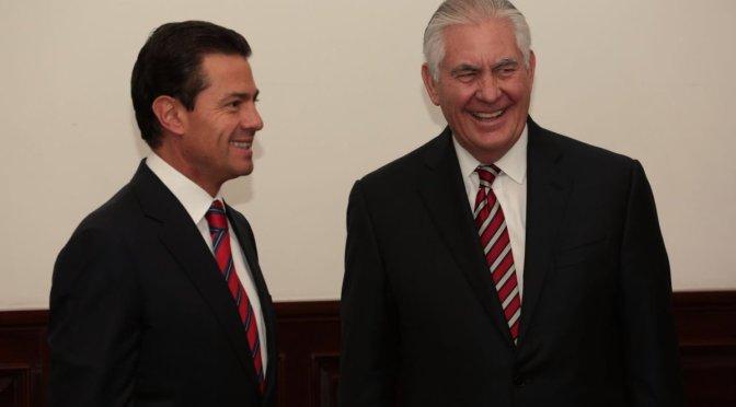 Peña Nieto reafirma compromiso en fortalecer relación con EUA