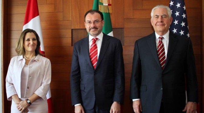 México, EUA y Canadá reforzarán cooperación energética