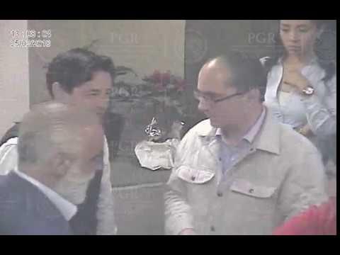 PGR muestra video en el que funcionarios piden a Anaya declarar