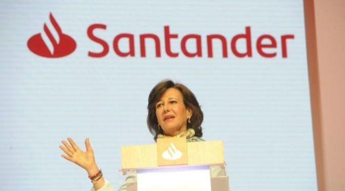Banco Santander renueva imagen corporativa