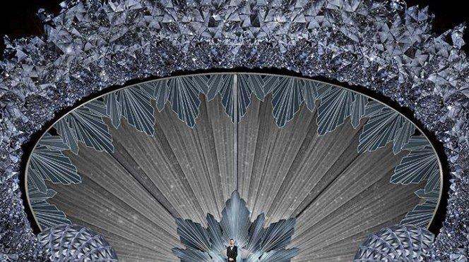 El escenario para los Oscar, con 45 millones de cristales Swarovski