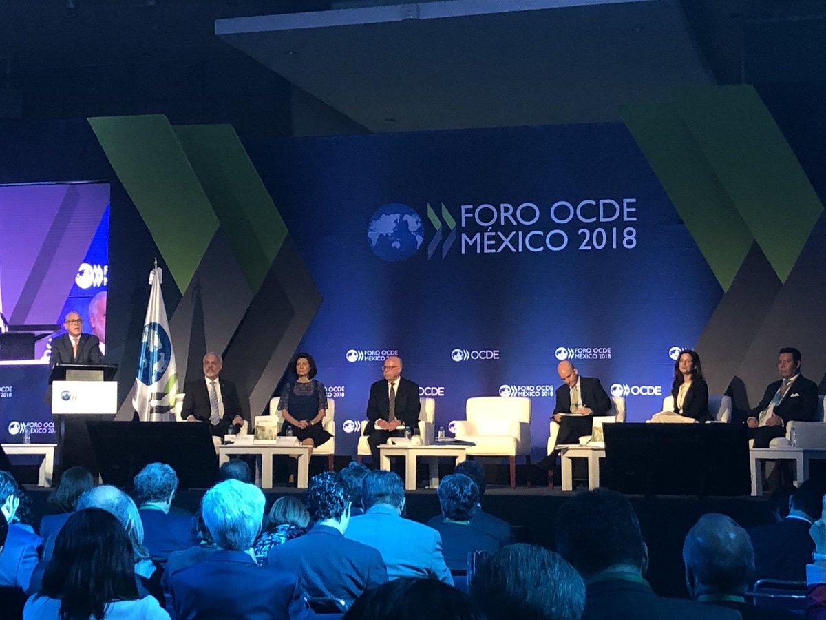 OCDE recomienda a México lanzar segunda ola de reformas