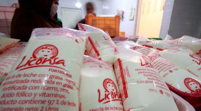 Liconsa refrenda compromiso en pro de la alimentación de los mexicanos