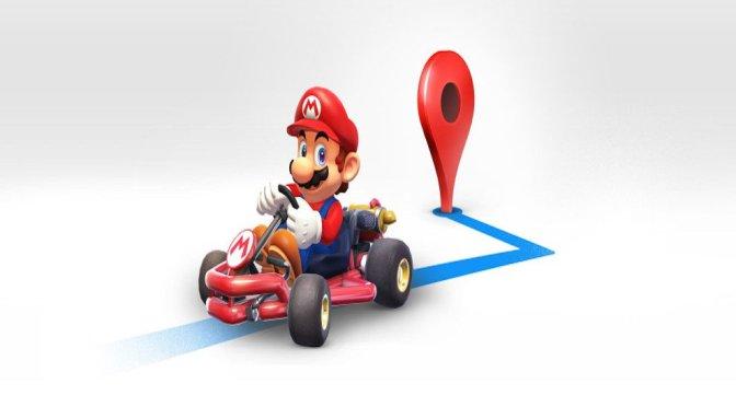 Mario Bros acompañará a usuarios de Google Maps en sus viajes