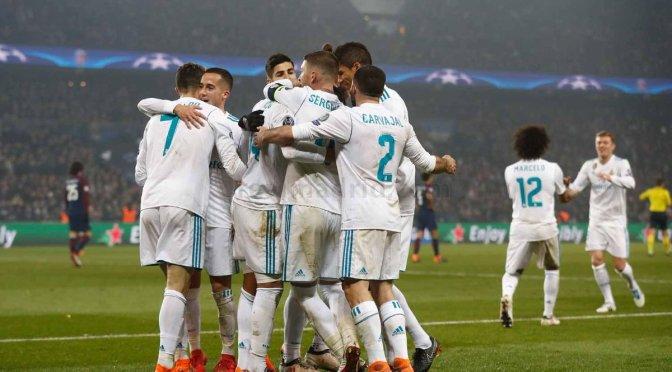 Cristiano y Asensio guían al Madrid a cuartos de final en Champions