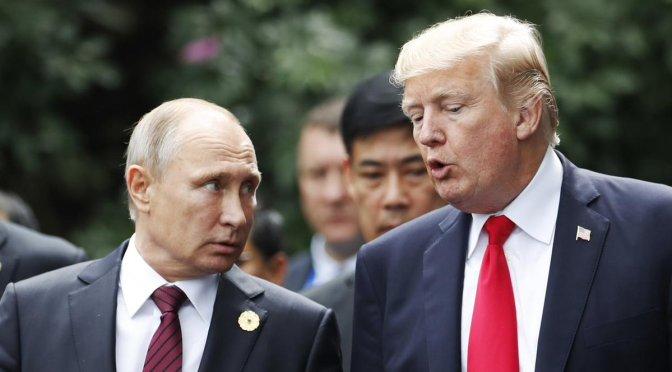 Trump anuncia reunión con Putin para discutir carrera armamentista