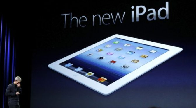 Apple lanza una nueva versión más económica de su iPad