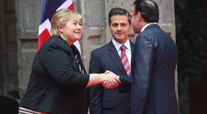 México y Noruega convencidos que proteccionismo es modelo caduco: Peña Nieto