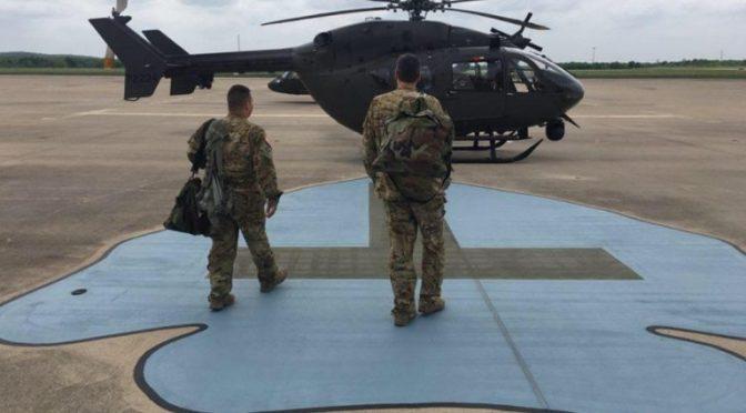 VIDEO: Inicia Texas envío de tropas a la frontera con México