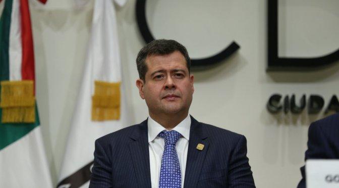 Asamblea confirma a José Ramón Amieva como jefe de Gobierno capitalino