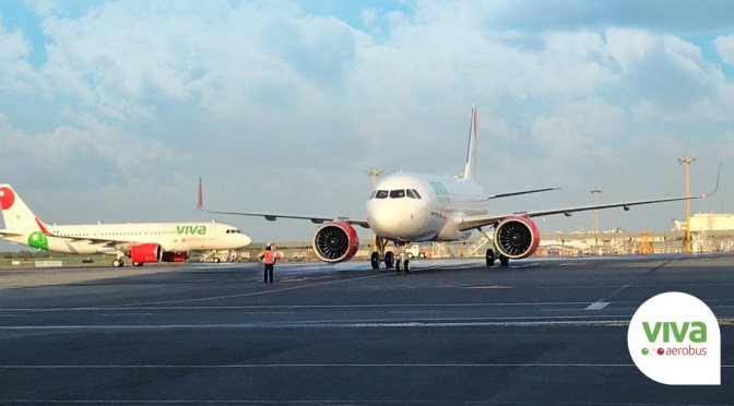 Viva Aerobus incrementa 20 por ciento cifra de pasajeros transportados