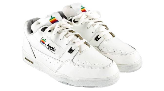 Apple Sneakers.