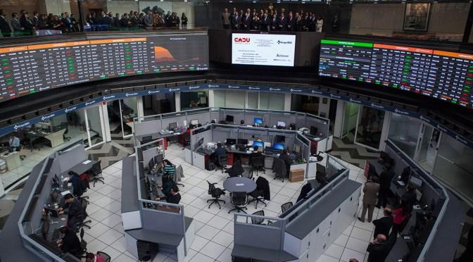 Bolsa Mexicana regresa a terreno negativo, baja 0.57 por ciento