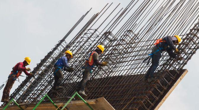Producción de empresas constructoras baja 10 por ciento en septiembre