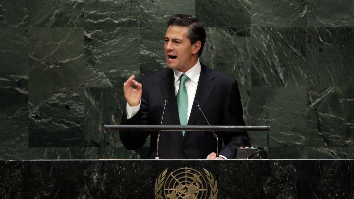 Peña Nieto viaja a Nueva York para participar en 73 Asamblea de la ONU