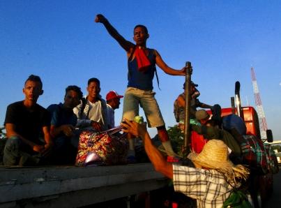 El Papa alaba actitud del pueblo mexicano ante caravana migrante