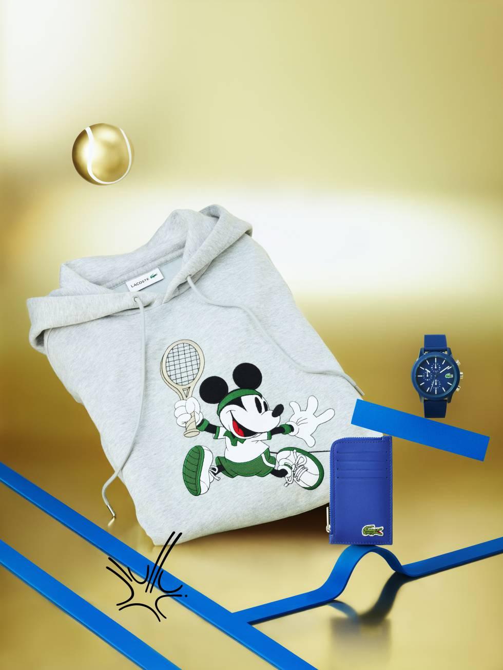 ¡Mickey Mouse invade las polos de Lacoste!