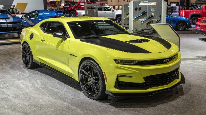Chevrolet Camaro 2019 Shock Yellow